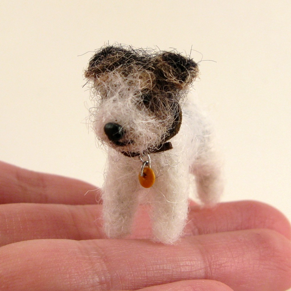 KaysK9s product, a custom felted likeness of your pet